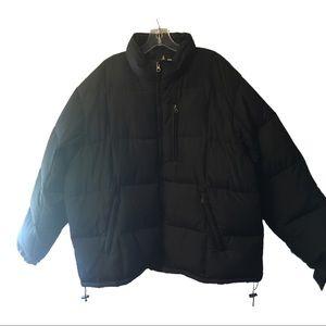 Athletech Black Winter Puff Coat